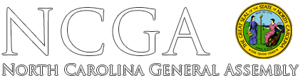 NCGA - North Carolina General Assembly